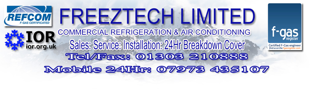 Commercial Refrigeration - Experts - Fully Qualified